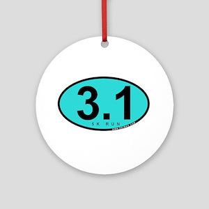 3.1 Run Ornament (Round)