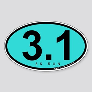3.1 Run Sticker (Oval)