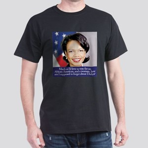Condoleezza Rice Black T-Shirt