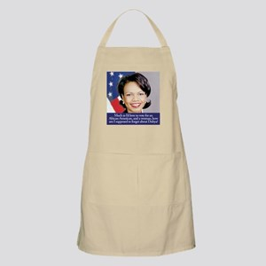 Condoleezza Rice BBQ Apron