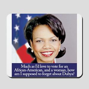 Condoleezza Rice Mousepad
