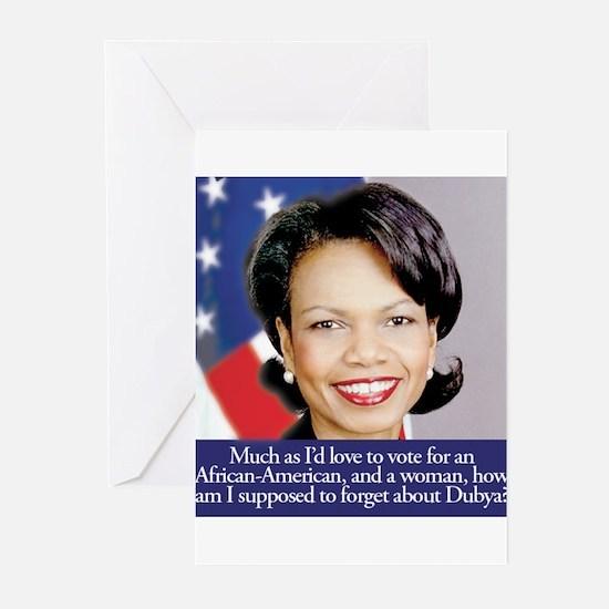 Condoleezza Rice Greeting Cards (Pk of 10)