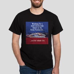 Potter Randall Democratic Club Black T-Shirt
