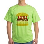 Royale With Cheese Green T-Shirt