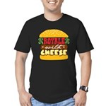 Royale With Cheese Men's Fitted T-Shirt (dark)