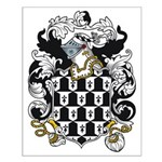 Oldfield Coat of Arms Small Poster