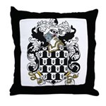 Oldfield Coat of Arms Throw Pillow