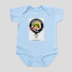 Douglas Clan Crest Badge Infant Creeper
