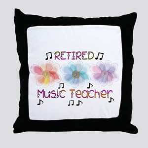 Retired Teacher II Throw Pillow