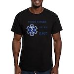 EMT Father Men's Fitted T-Shirt (dark)