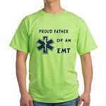 EMT Father Green T-Shirt
