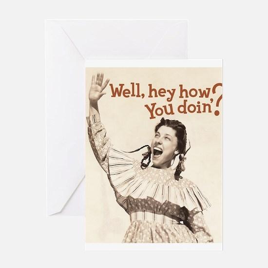 Well, hey! Greeting Card