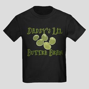 Daddy's Lil Butter Bean Kids Dark T-Shirt
