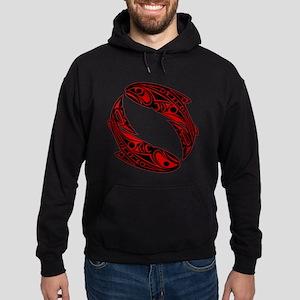 haida salmon Hoodie (dark)