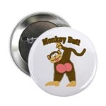 "Monkey Butt 2 2.25"" Button (100 pack)"