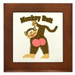 Monkey Butt 2 Framed Tile