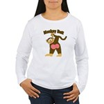 Monkey Butt 2 Women's Long Sleeve T-Shirt