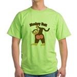 Monkey Butt 2 Green T-Shirt