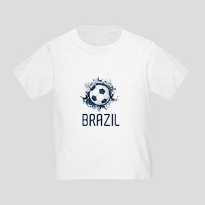 Hip Brazil Football Toddler T-Shirt