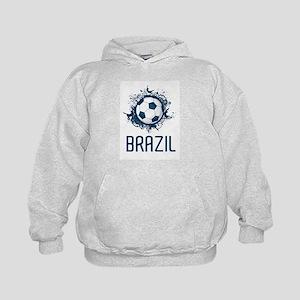 Hip Brazil Football Kids Hoodie
