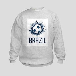 Hip Brazil Football Kids Sweatshirt