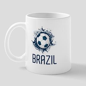 Hip Brazil Football Mug