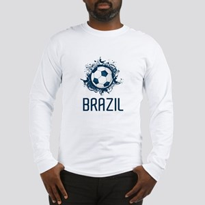 Hip Brazil Football Long Sleeve T-Shirt