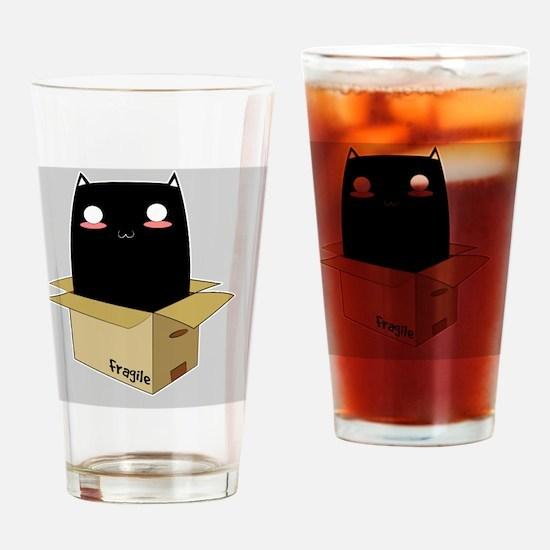 Cute Monster humor Drinking Glass
