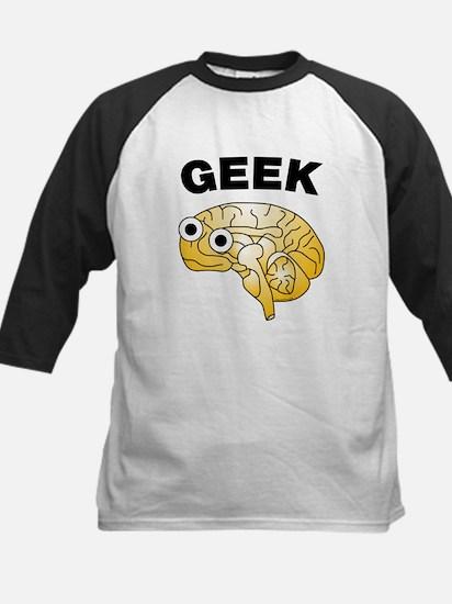 Geek Brain Kids Baseball Jersey