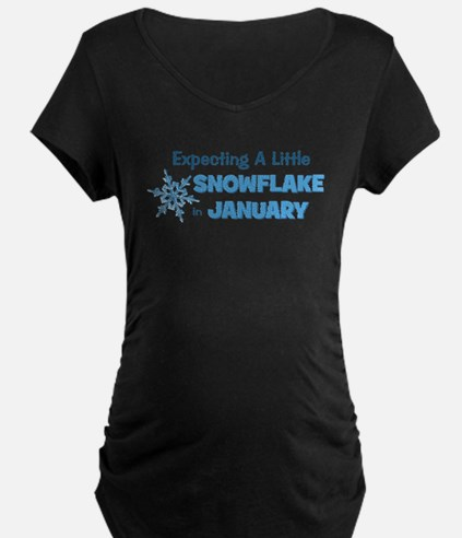 Snowflake in January T-Shirt
