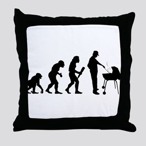 Barbeque Throw Pillow