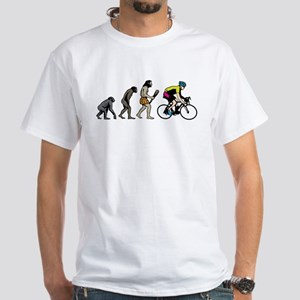 Bike Racer White T-Shirt