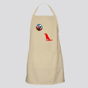 Howling At The Ball! Apron