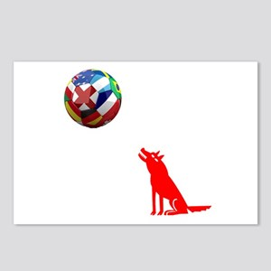 Howling At The Ball! Postcards (Package of 8)