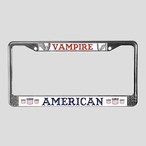 Vampire American License Plate Frame