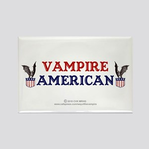 Vampire American Rectangle Magnet