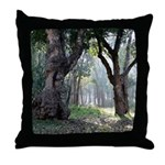 Trees of the Forest Throw Pillow