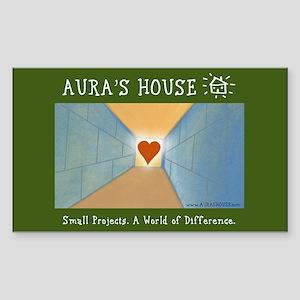 Aura's House Rectangle Sticker