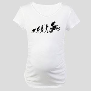 Motocross Maternity T-Shirt