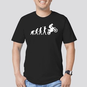 Motocross Men's Fitted T-Shirt (dark)