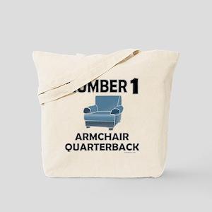 ARMCHAIR QUARTERBACK Tote Bag
