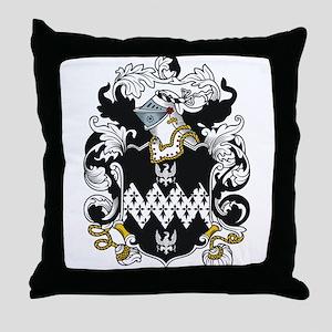 Osmond Coat of Arms Throw Pillow