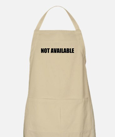 Not Available Apron