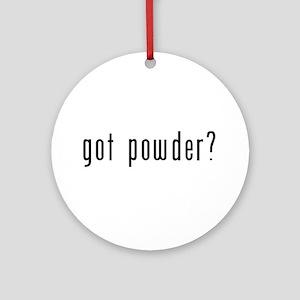 got powder? Ornament (Round)