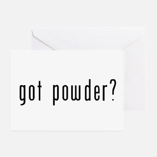 got powder? Greeting Cards (Pk of 10)
