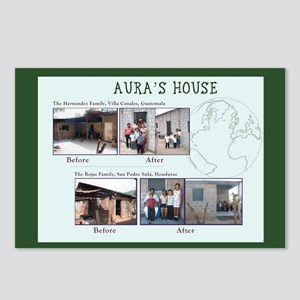 Aura's House Postcards (Package of 8)