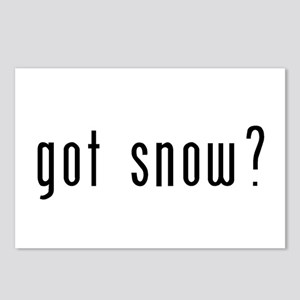 got snow? Postcards (Package of 8)