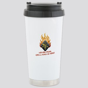 Grill Master Stainless Steel Travel Mug