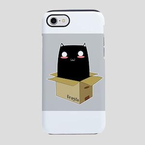 Black Cat in a Box iPhone 7 Tough Case