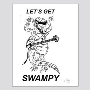 Rockadile - Let's Get Swampy Small Poster